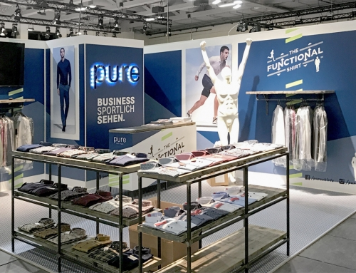 pure – The Functional Shirt: Messe 2019