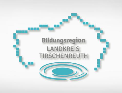 Bildungsregion Landkreis Tirschenreuth: Schriftzug & Corporate Design