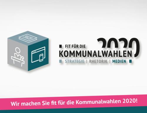 Kommunalwahlen 2020: Logo, Flyer
