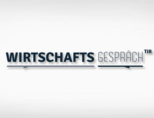Wirtschaftsgespräch Landkreis Tirschenreuth: Schriftzug, Präsentation, HandOut inkl. Umschlag, Namensschilder, Display LED-Spannrahmen