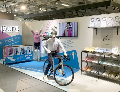 pure – The Functional Shirt: Messe 2018